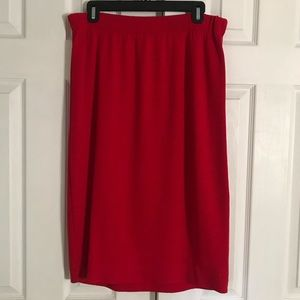 Vtg KAMA by St John Skirt sz 18
